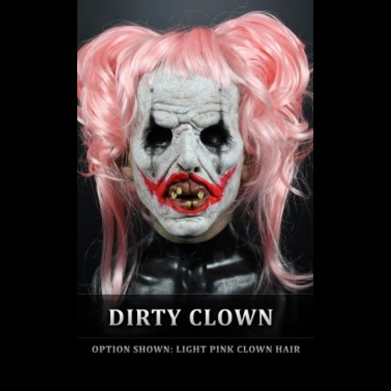 IN STOCK - Daisy Clown with Light Pink wig