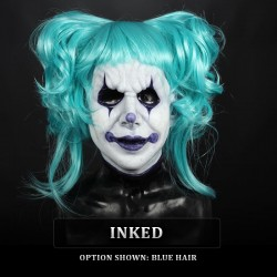 IN STOCK - Trixie Inked with Blue Wig Female Fit