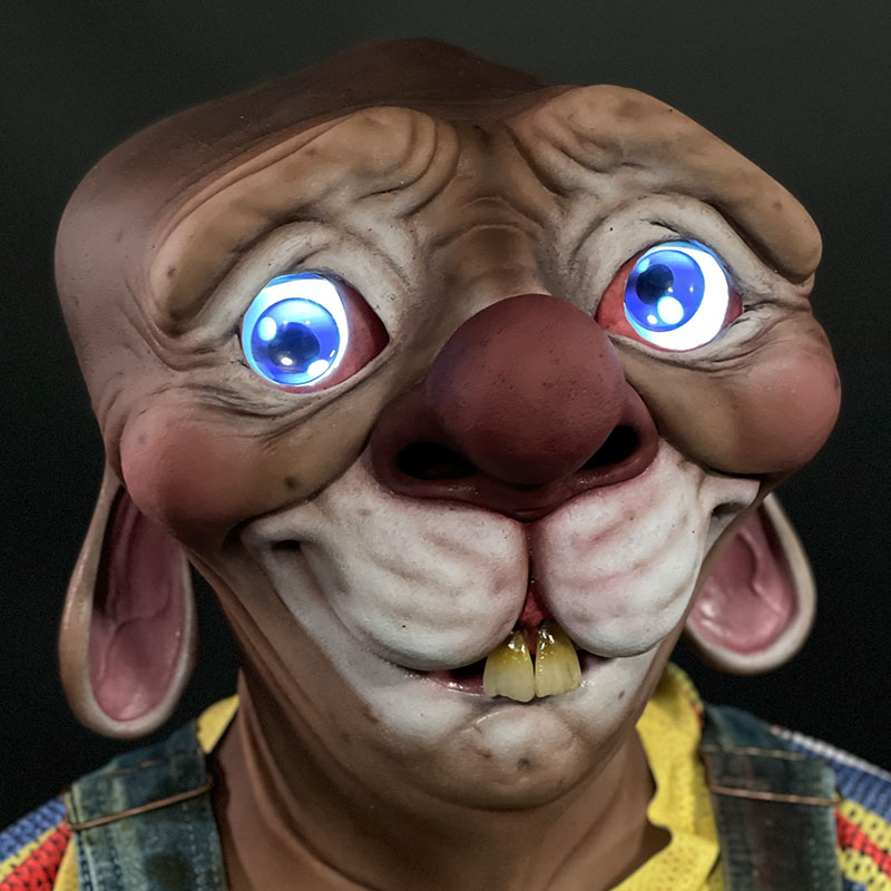 Screwball Silicone Mask