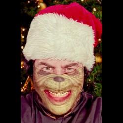 Christmas Grouch Cloth Face Mask