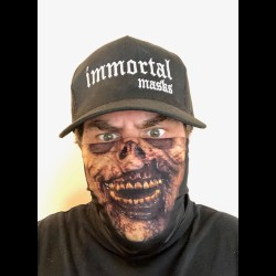 Ghastly Cloth Face Mask