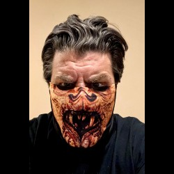 Immortal Bloody Cloth Face Mask