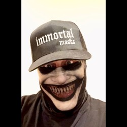Reverend Nightmare Cloth Face Mask
