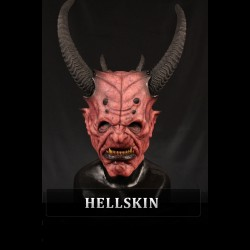 Krampus Silicone Half Mask