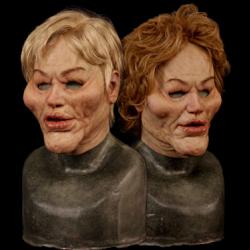Butchered Silicone Half Mask