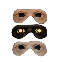 Silicone Eye Inserts - For Deluxe Head Form