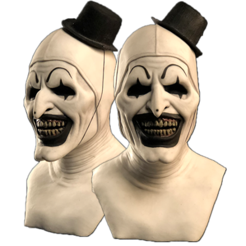 Art the Clown Officially licensed from Terrifier Silicone Mask