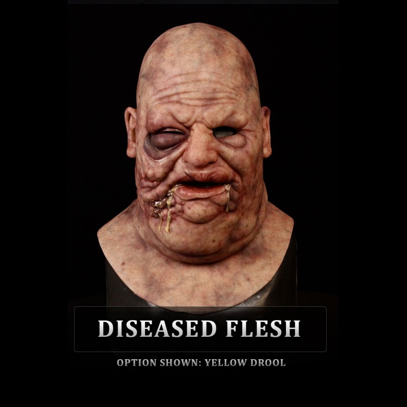 Bloated Silicone Mask