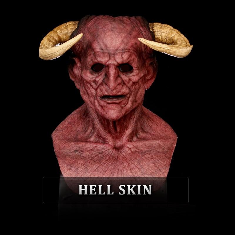 Lucifer Silicone Mask