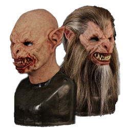 Lycan Silicone Half Mask