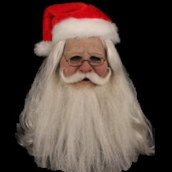 Santa Silicone Half Mask