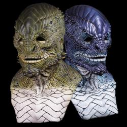 Lizard Man Silicone Mask