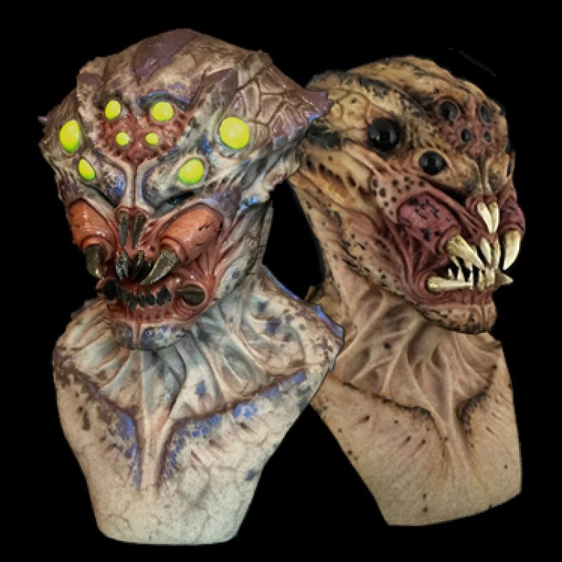 Arachnid Silicone Mask