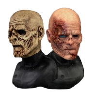 Decayed Silicone Half Mask