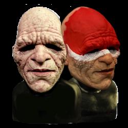 Savage Silicone Half Mask