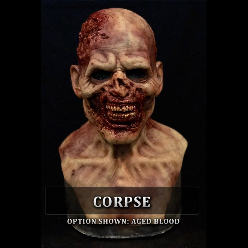 Zombie Silicone Mask