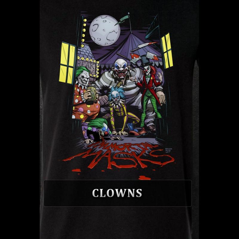 Clowns Tshirt - Womens