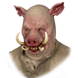 Hog Silicone Mask