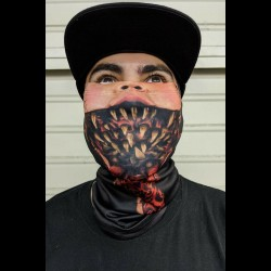 Possessed Doll Cloth Face Mask