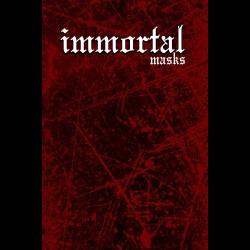 Immortal Logo Cloth Face Mask