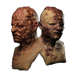 Infected Silicone Mask