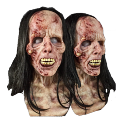 Zombie Female Fit Silicone Mask