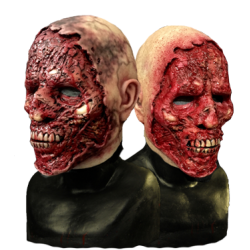 Road Rash Silicone Half Mask